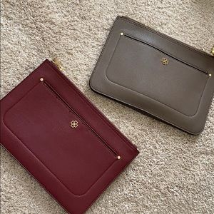 Set of TWO Ann Taylor clutches / cross body bags